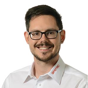 Adrian Margelisch, Systemtechniker Gebäudeautomation bei Spetec