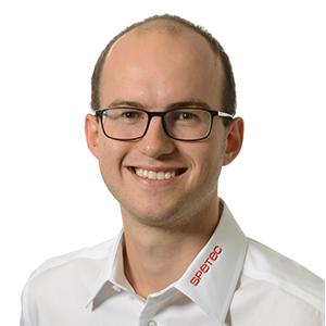 Cedric Mäder, Systemtechniker Gebäudeautomation bei Spetec