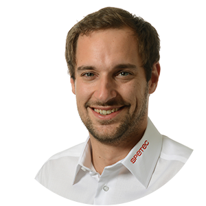 Simon Prassl, Systemtechniker Sicherheit bei Spetec