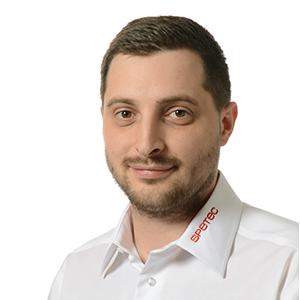 Tobias Schollmayer, Systemtechniker Gebäudeautomation bei Spetec