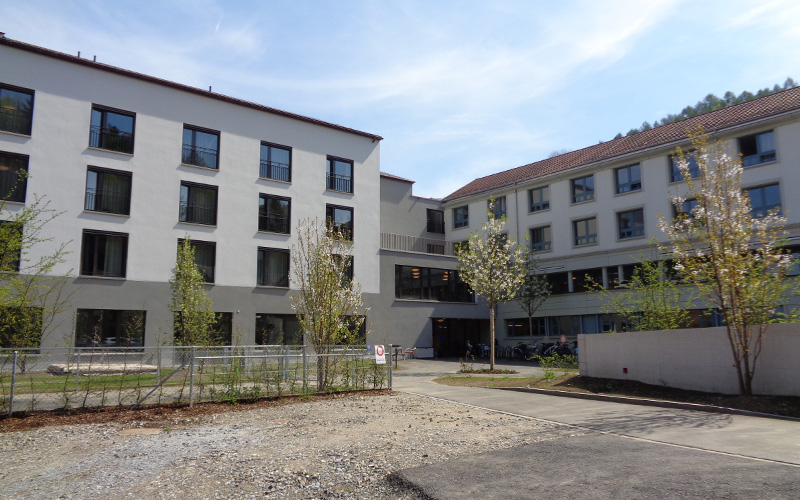 Referenz: Alters- und Pflegeheim WirnaVita: Wohnen im Alter, Foto Aussenansicht