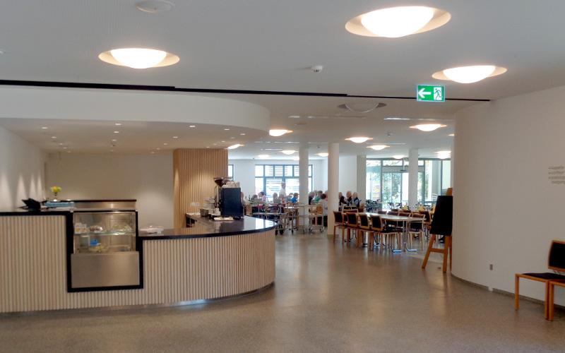 Referenz: Alters- und Pflegeheim WirnaVita: Wohnen im Alter, Foto Restaurant