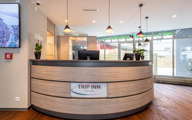 KNX-Steuerung Hotel Trip Inn, Zürich - Foto Reception