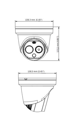 Vermassung Thermographische Kamera