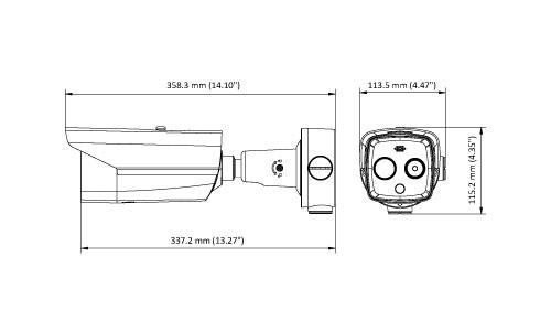 Vermassung Thermografische Kamera
