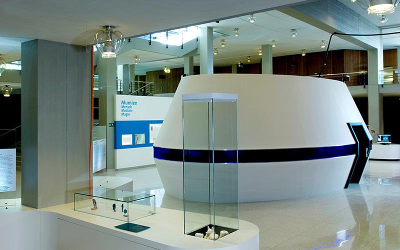 Sicherheitskonzept und Videoüberwachung Mumienausstellung Universität Zürich