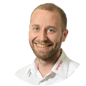 Silvan Grob, Bereichsleiter Gebäudeautomation bei Spetec