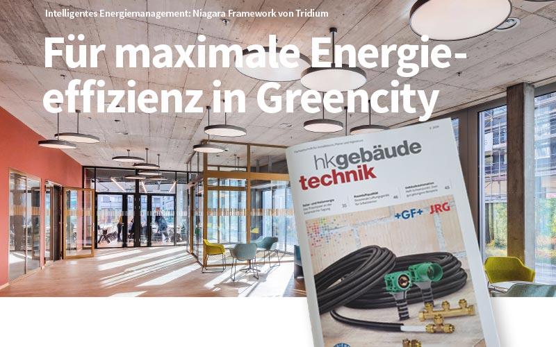 HK Gebäudetechnik 09/20 - Intelligentes Energiemanagement mit Niagara Framework